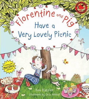 Children's books: Florentine and Pig Have a Very Lovely Picnic by Eva Katzler