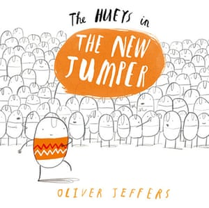 Children's books: The Hueys in The New Jumper by Oliver Jeffers