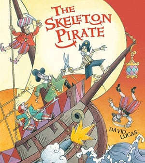 Children's books: The Skeleton Pirate by David Lucas