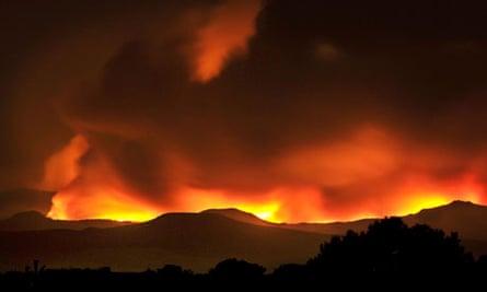 Las Conchas wildfire