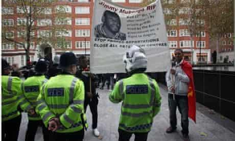Jimmy Mubenga demonstration