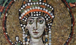 Mosaic portrait of Theodora in Ravenna