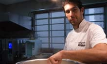 Chef Rodrigo de Almeida at Mocotó in São Paulo, Brazil