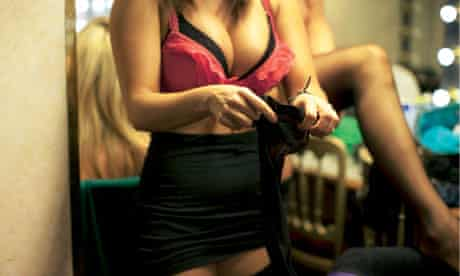 Behind the scenes at Soho lap-dance club