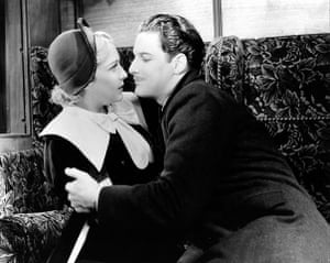 Hitchcock: The 39 Steps with Robert Donat and Madeleine Carroll
