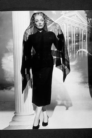 Hitchcock: Film Stills Of Stage Fright with Marlene Dietrich