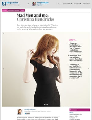 Another view of the article design concept