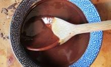 Nigel Slater recipe chocolate sauce