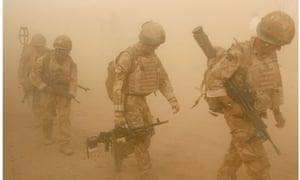 British soldiers in Helmand, Afghanistan