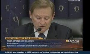 Spencer Bachus, Republican congressman for Alabama.