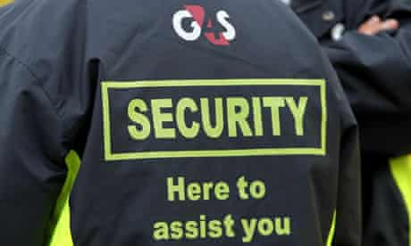 A G4S security guard