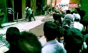 Damascus unrest