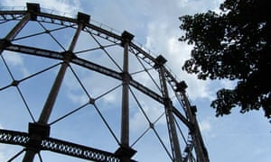 Gas holder in Bromley