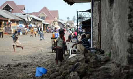Residents of Kitchanga