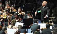 West-Eastern Divan Orchestra with Daniel Barenboim