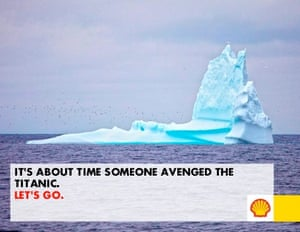 Shell ads contest: Let's Go Public on Arctic Ready