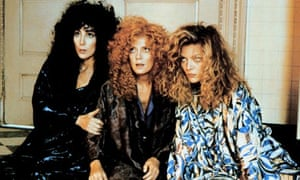 Still from the film adaptation of John Updike's The Witches of Eastwick
