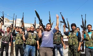 Free Syrian Army in Azzaz