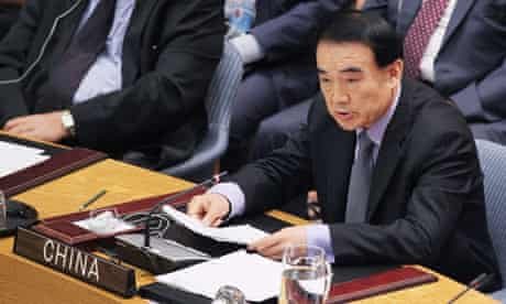 Chinese ambassador to UN