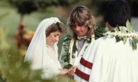 Ozzy Osbourne marries Sharon in Hawaii, 1982