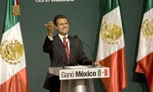 Enrique Pe  a Nieto leads in Mexican elections.