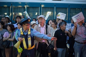 Japan nuclear protests: Anti-Nuclear Protesters Demonstrate In Tokyo
