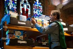 Foodbank gallery: 5 Foodbank in a church