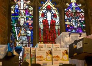 Foodbank gallery: 7 Foodbank in a church
