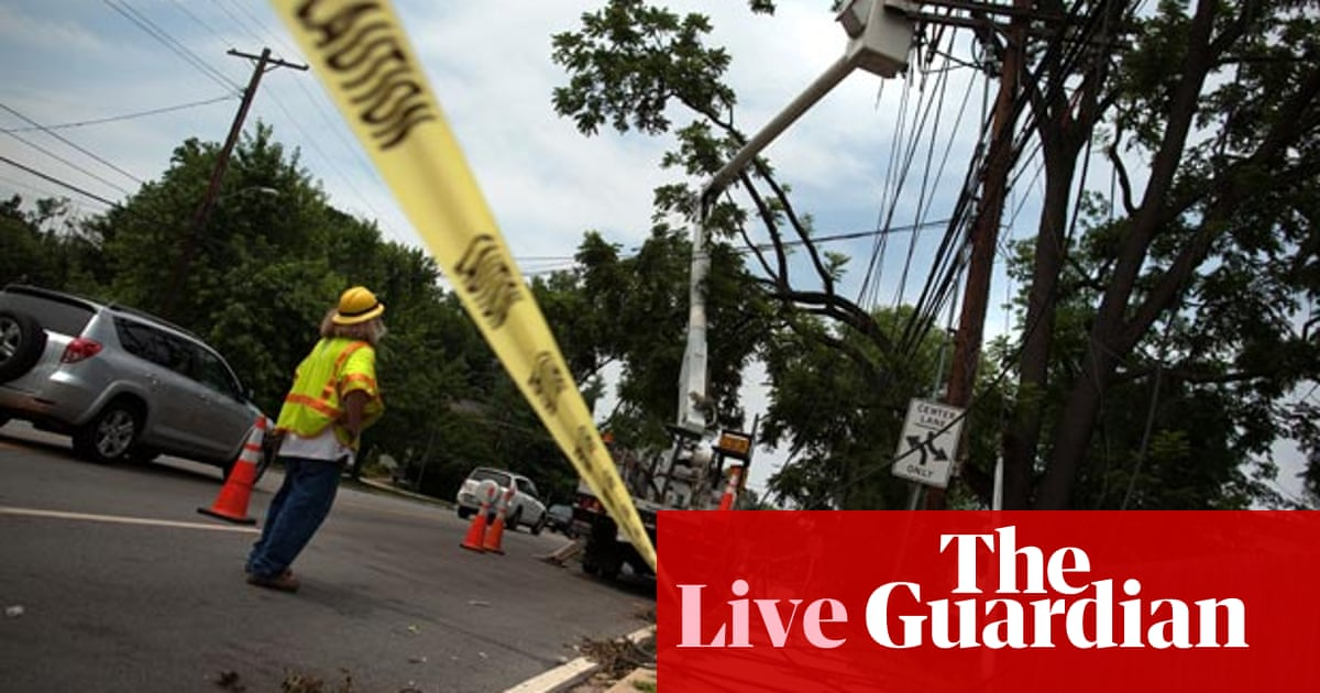 Power outages cause chaos after storms in mid-Atlantic
