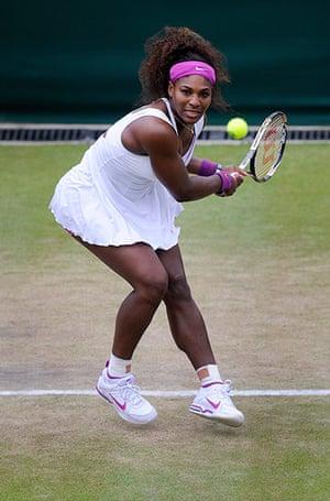 Wimbo Day 7: Serena Williams at Wimbledon 2012