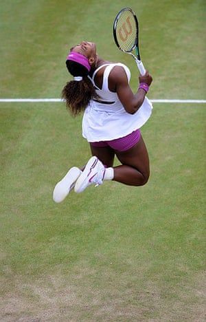 Wimbo Day 7: Serena celebrates at Wimbledon 2012