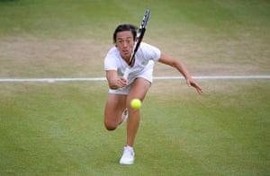 Wimbo Day 7: Francesca Schiavone at Wimbledon 2012
