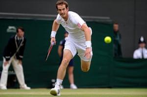 Wimbo Day 7: Andy Murray at Wimbledon 2012