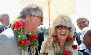 Prince Charles and Camilla in Tanzania
