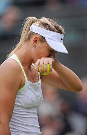 Wimbo Day 7 part 2: Maria Sharapova at Wimbledon 2012
