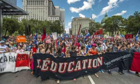Montreal student protests