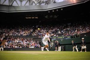 Day 7 Wimbledon: Novak Djokovic at Wimbledon 2012