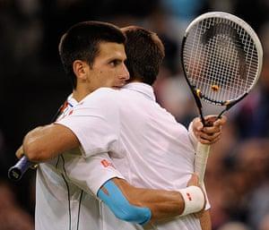 Day 7 Wimbledon: Djokovic at Wimbledon 2012