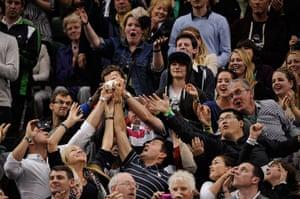 Day 7 Wimbledon: Fans at Wimbledon 2012