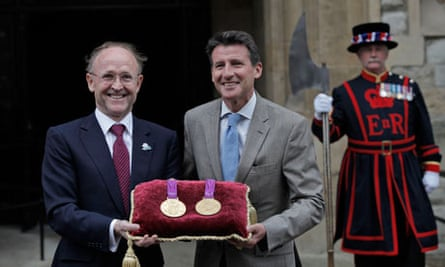 Olympic medals at the Tower of London