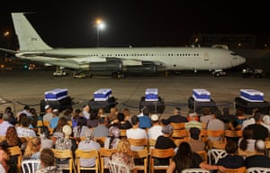Picture desk live: The coffins of people killed in the bombing in Bulgaria