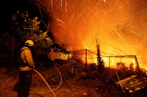 Picture desk live: Forest fires at Madeira