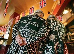 Picture desk live: Pearly Kings of Camberwell and Bermondsey