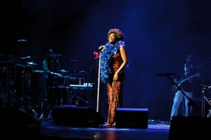 Week in music: Macy Gray performs  in New York on 17 July