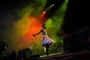 Week in music: Skye Edwards of Morcheeba performs at the Optimus Alive festival