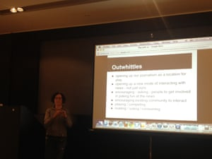 Mary Hamilton, from our SEO team, demonstrates 'Outwhittle'