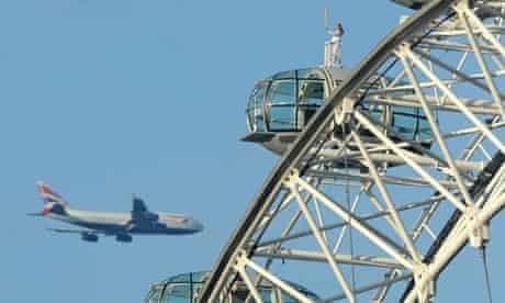 Amelia Hempleman-Adams on the London Eye