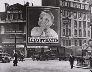 Another London exhibition: Near Monument Station, London 1938