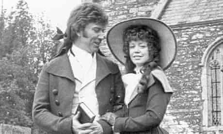 Angharad Rees as Demelza with Robin Ellis as Ross Poldark