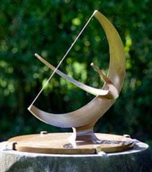 Henry Moore sundial